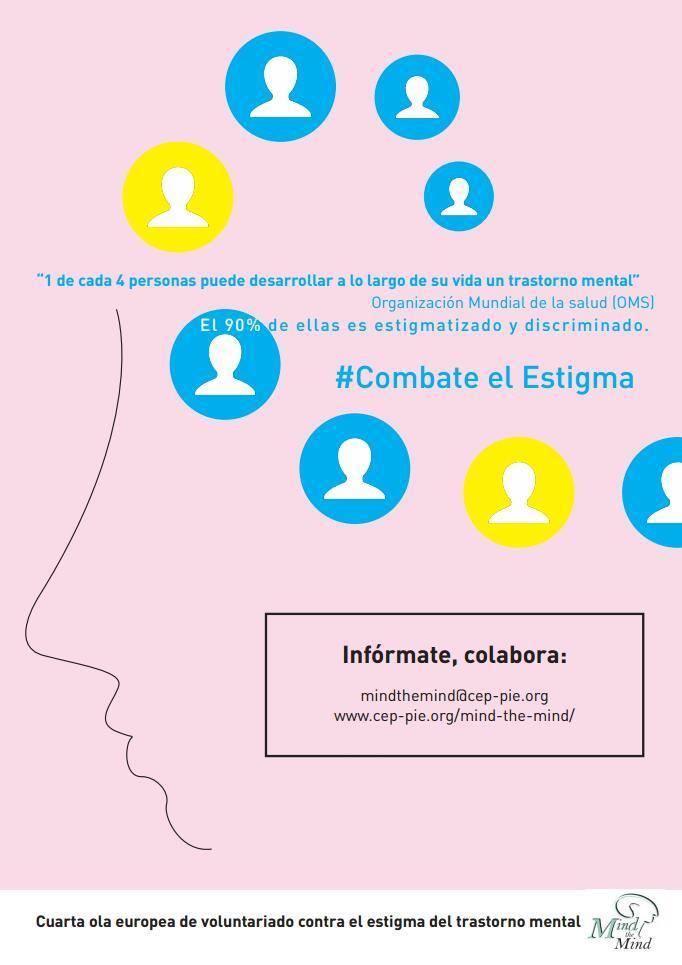 """Cartel de la Campaña 2017/2018 de """"Mind the Mind"""" diseñado por Adriel Salgado Álvarez."""