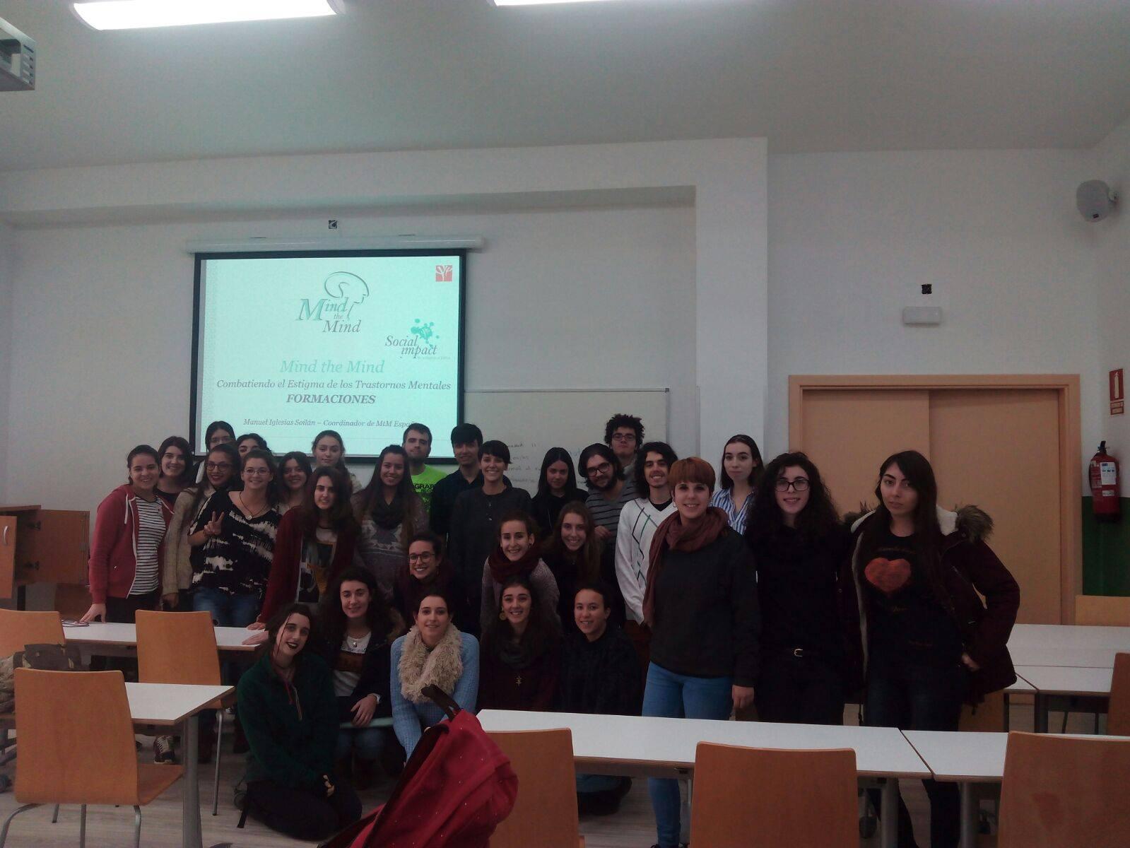 Primer grupo de la Universidad Autónoma de Madrid.