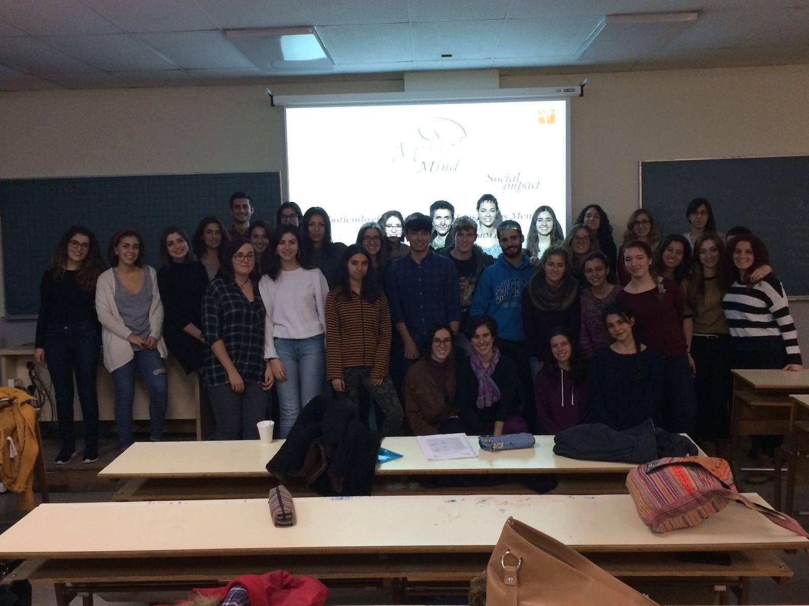 Foto final del segundo grupo de las formaciones de la Universidad Complutense de Madrid.