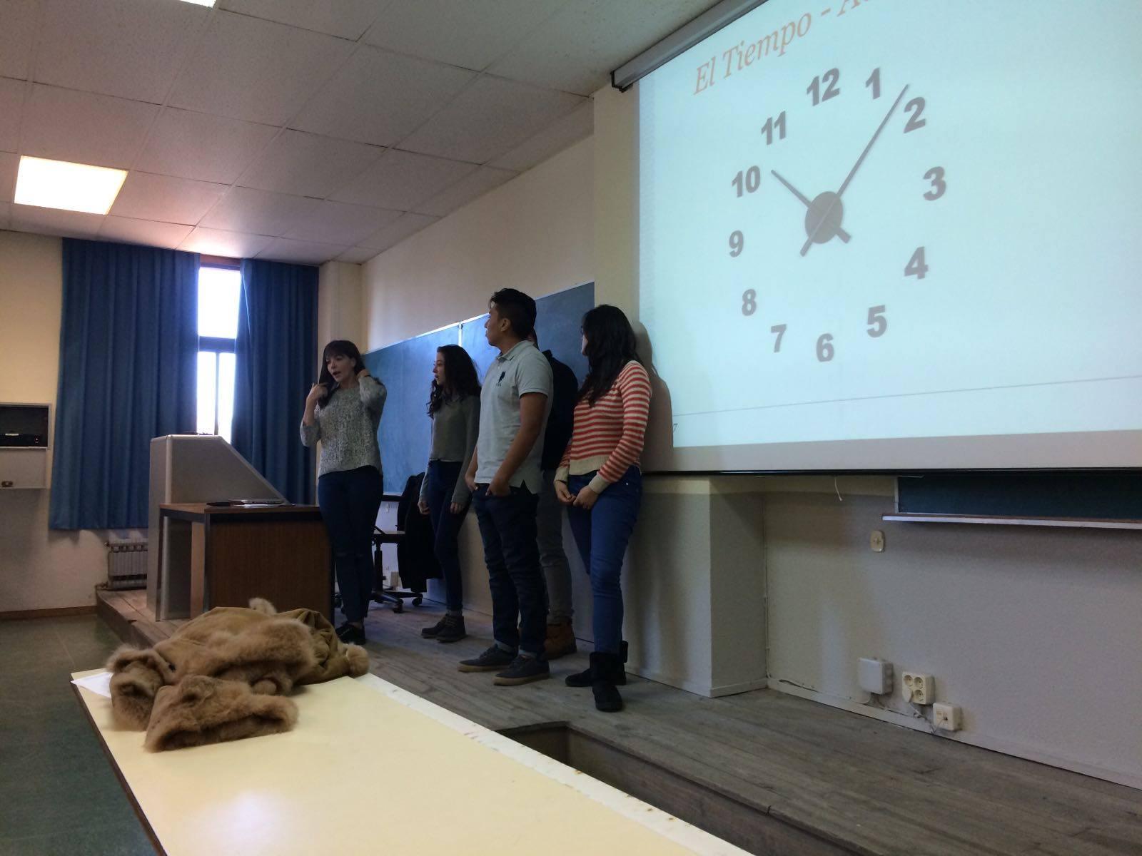 Actividad de la formación sobre la organización del tiempo en una charla/taller.