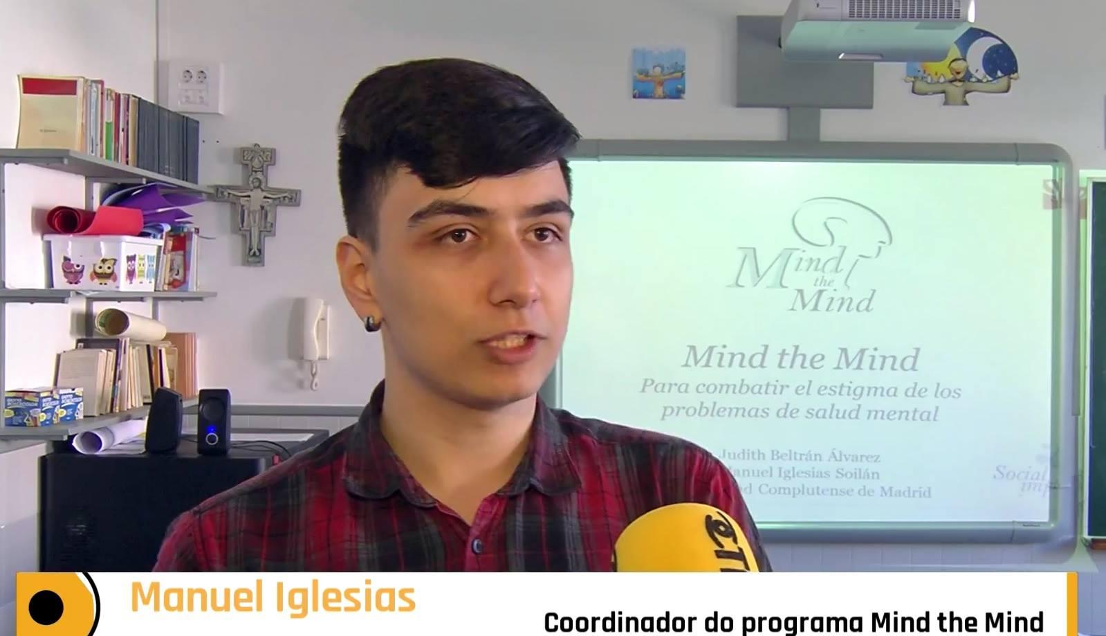 Entrevista antes del taller de Mind the Mind por la Fundación TIC.