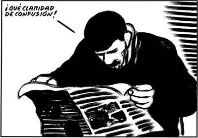 El claroscuro de la responsabilidad // Caricatura de El Roto