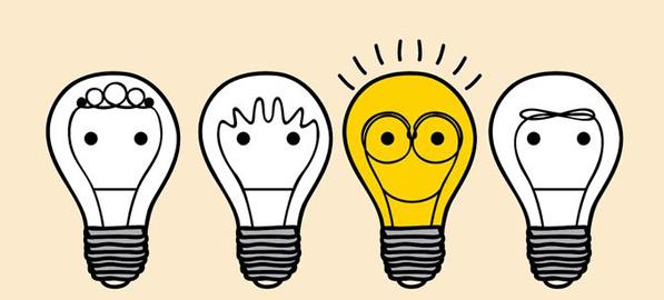 Bombillas // Imagen del Instituto Europeo de Psicología Positiva